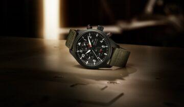 """FEATURING: IWC – Pilot's Watch Chronograph TOP GUN Edition """"SFTI"""" In Black Ceramic And Ceratanium"""