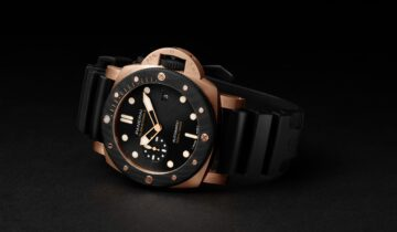 FEATURING: PANERAI – Submersible GoldtechTM Orocarbo – 44mm