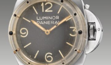 FEATURING: PANERAI – VINTAGE PANERAI WATCHES SOLD BY THE PHILLIPS AUCTION HOUSE