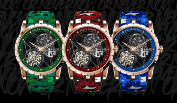 FEATURING: ROGER DUBUIS drops the Drop Collection