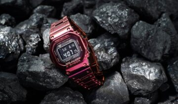 FEATURED: G-SHOCK: The Full Metal 5000 gets a vibrant makeover