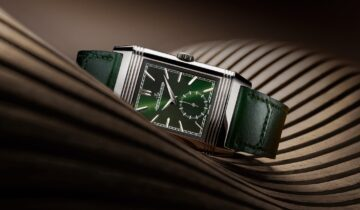 Watches & Wonders 2021: Jaeger-LeCoultre Reverso Tribute Small Seconds in Green