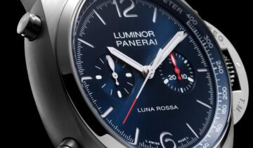 Watches & Wonders 2021: PANERAI Luminor Chrono Luna Rossa