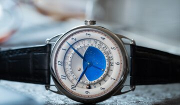 FEATURED: The De Bethune DB25GMT Starry Varius