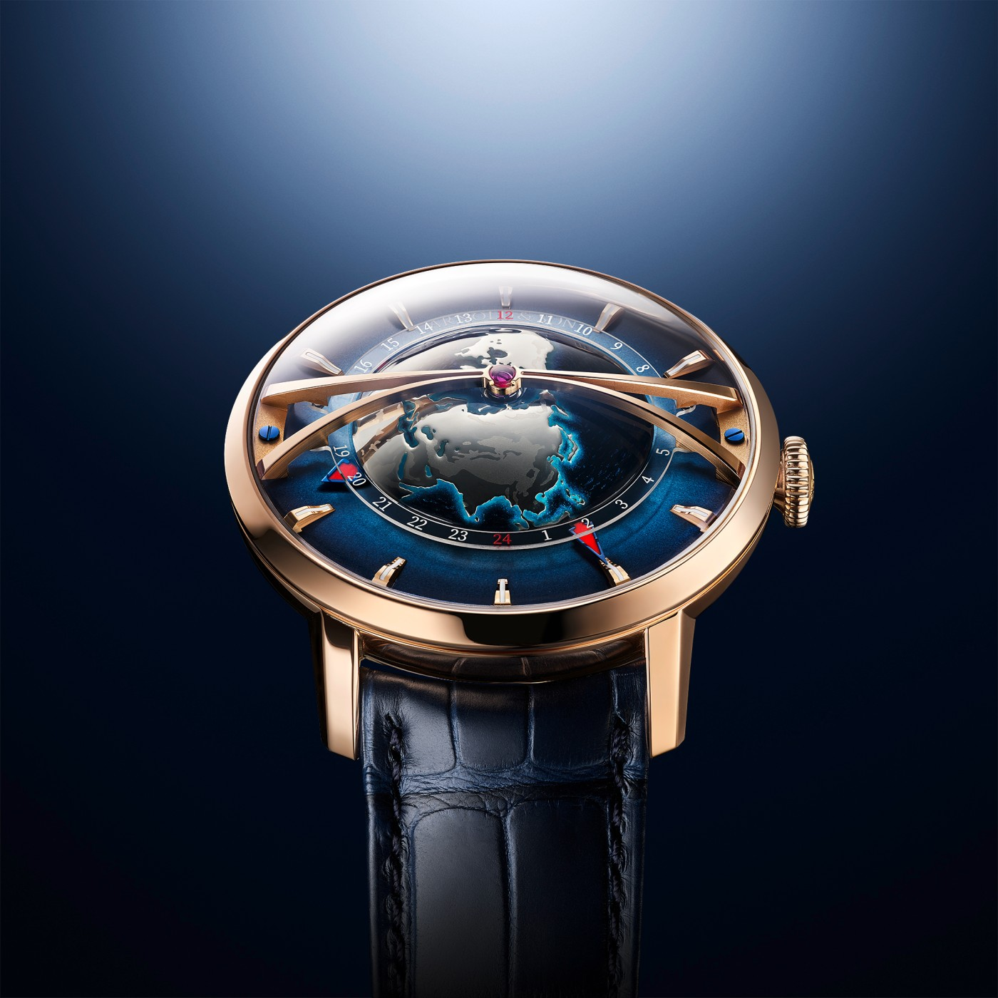 Globetrotter Gold by Arnold & Son