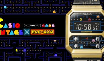 The CASIO Vintage A100WEPC X Pac-Man watch : A playful tribute