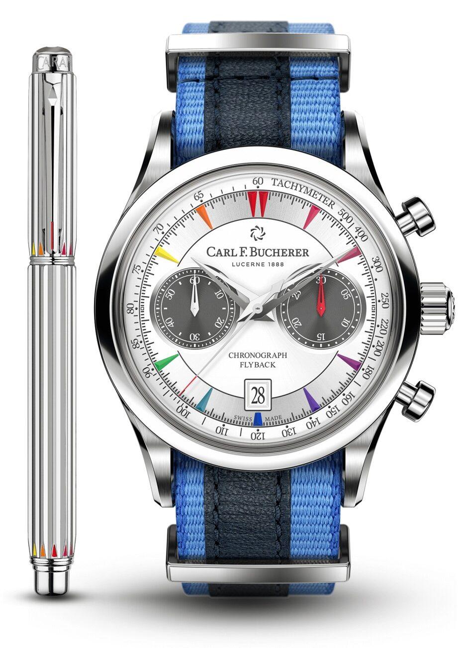 Carl F. Bucherer Manero Flyback Signature watch.
