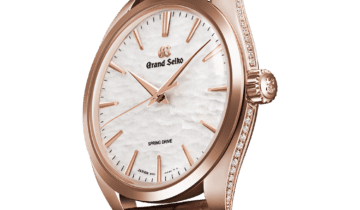 Grand Seiko: A new Spring Drive captures the winter scenery of Shinshu