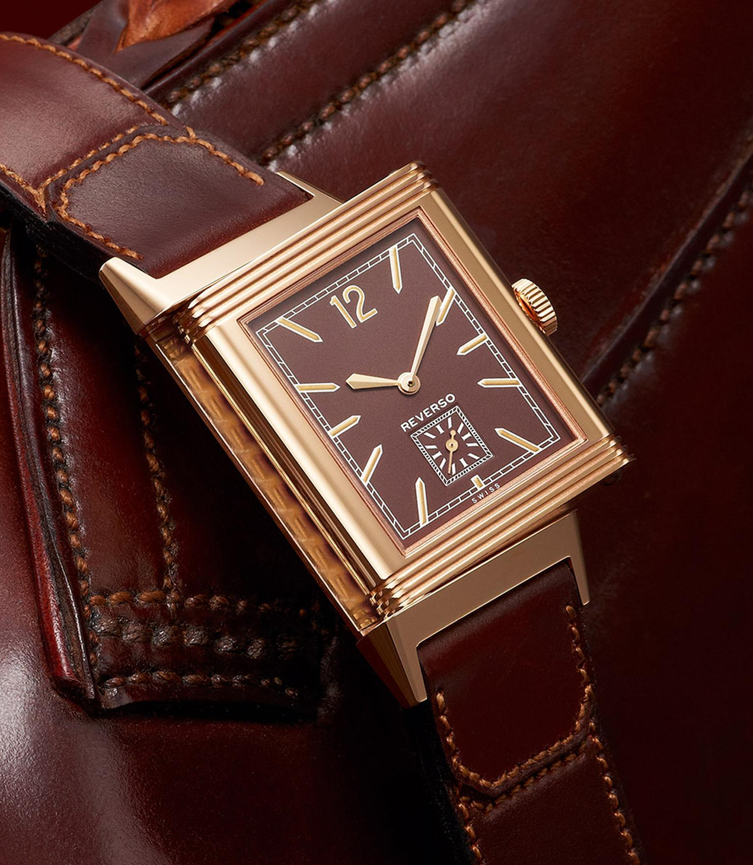 Grande Reverso Ultra Thin 1931 with its chocolate dial